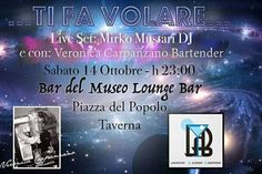 Continuano la serate del Bar del Museo. Ritorna la collaborazione di Veronica Carpanzano, e alla console ci sarà Mirko Mustàri che vi farà ballare tutta la notte.