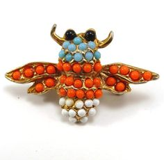 Tiny Flying Bug Vintage 1950s Bee Pin Fly by VintageCreekside, $15.00