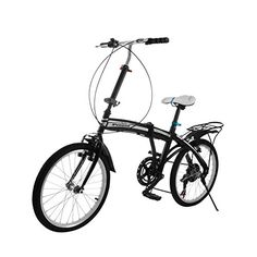 OrangeA Folding Bike 20 Inch Wheel 6 Speed Foldable Bicycle with Steel Frame Shimano Gears Folding Bikes Adjustable for Ages 7 and Up Kids Women Men Adults >>> See this great product.