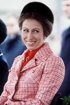 Princess Anne: the unsung royal style icon Princess Elizabeth, Princess Margaret, Queen Elizabeth Ii, Princess Dress Up, Royal Princess, Windsor, Adele, Cousins, Queen 90th Birthday