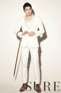 Jo Jung Suk sporting a cane?  Sure.  Why not?