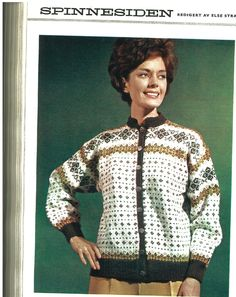 Påskekoften NU 6/1969 Hand Knitting, Knitting Machine, Cardigan Design, Nordic Design, Scandinavian, Diva, Men Sweater, Retro, Sweaters