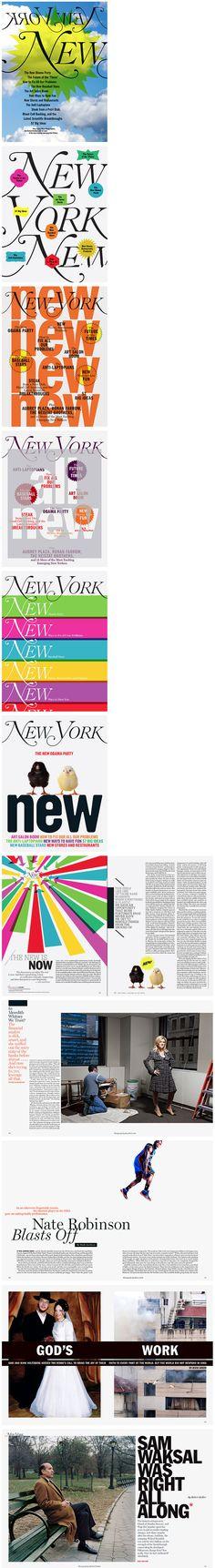 New York Magazine redesign