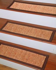 Origins Carpet Stair Tread   Set Of 13 Origins Carpet Stair Tread   Set Of  All Natural Sisal, Hand Crafted By Artisan Rug Maker. The Origins Carpet  Stair