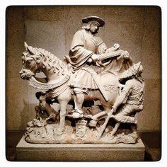 São Martinho a cavalo (Museu Gulbenkian)