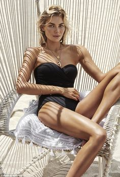 That's our girl! On Wednesday Australian swimwear brand Seafolly revealed Jessica Hart as ...