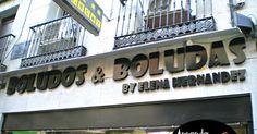 Boludos y boludas - Aprende español callejeando por Madrid  #ELE #español #Spanish #sufijos #vocabulario