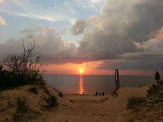 Saulėlydis Klaipėdoje- sunset in Klaipeda- seaport of Lithuania We love Lithuania - Photo by : Ieva Stasiulaitytė ( Fb)