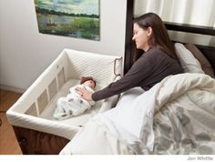 Co-sleepers do not have any safety standards yet, so be cautious about buying this product.  The biggest danger lurks in the pillows and blankets from the parents bed that can fall down into babies sleep space. Better to have a crib, portable crib or bassinet that you place near your bed but not attached. Room-sharing is recommended for safe sleep.