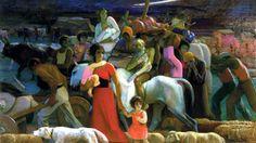 Exodo: O pintor italiano Amedeo Bocchi