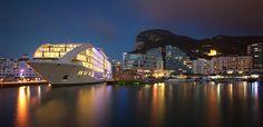 #Sunborn #Gibraltar - Five Star #Luxury Super Yacht Hotel.@SunbornHotels #Cruise  Read & Pics: http://wp.me/p4Uk7S-LJ