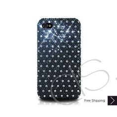 Dotted Bling Swarovski Crystal iPhone 5 Case