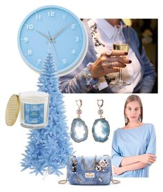 """Like a Blue"" by yaroslavna-dobryanskaya on Polyvore featuring мода и Lemnos"