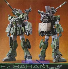GUNDAM GUY: HGBF 1/144 EZ-SARAM - Custom Build
