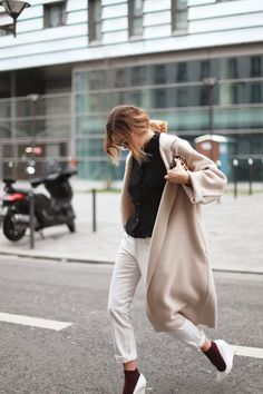 basic colors and shapes #fashion #camel #streetstyle