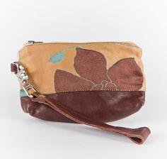Little versatile wristlet/ pouch/wallet Fleur 4201 by VEINAGE, $70.00