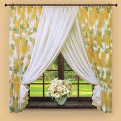 Stylish Contemporary Kitchen Curtains - http://gusg.leesvilletaproom.com/stylish-contemporary-kitchen-curtains/ : #ContemporaryDecor Many people choose vertical blinds or shutters of her kitchen windows, but if you do not want to use them and are looking for inexpensive ideas kitchen window treatment, then you can use curtains. There are many different styles of contemporary kitchen curtains that look good in a kitchen and...
