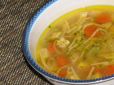 Kid's Favorite Chicken Noodle Soup. Homemade and better than the can!