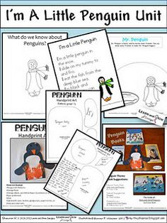 Penguin Activities Part 1- A Free Mini Penguin Unit