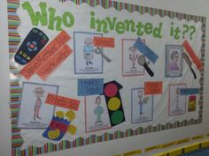 24 Ideas For African American History Projects Bulletin Boards History Bulletin Boards, Science Bulletin Boards, Interactive Bulletin Boards, African American Inventors, African American History Month, Black History Inventors, Les Inventions, Black History Month Activities, Nasa History
