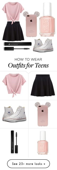 """idk"" by churchgirl1205 on Polyvore featuring Converse, Essie and Forever 21"
