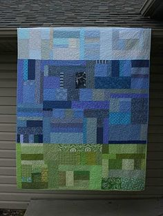 """""""Lazy Summer Days"""" (from Amandajean/Crazy Mom Quilts)  I so am going to make thiS!!!!"""