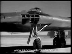 First Flights of the Northrop YB-49 Flying Wing  - 1948