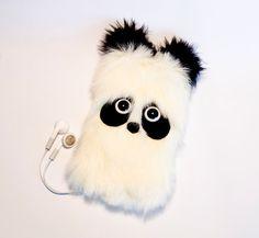 Paddy PANDA - Kawaii Phone Sleeve Case iPhone 4,4S,5 iPod Touch 4,5 Samsung Galaxy S3,S4 on Etsy, $22.58