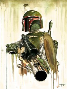 The ultimate bounty hunter is back in this Star Wars Boba Fett Replica Paper Giclee! Stunning artwork featuring Fett and the barrel-end of a blaster! Limited to just 125 pieces worldwide! Star Wars Fan Art, Bd Star Wars, Star Wars Poster, Boba Fett Art, Star Wars Boba Fett, Jango Fett, Geeks, Decoracion Star Wars, Dark Vader