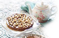 Lækker chokolade-cheesecake til kagebordet