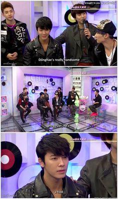 Donghae's qualities according to Kyuhyun   allkpop Meme Center