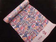 Okinawa's traditional design [ 琉球びんがた ] - 着物 新品 琉球びんがた 工房 空 島袋りべか作 型染め着尺反物 着物、アンティーク着物、リサイクル着物のシンエイ