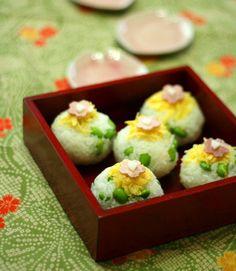edamame bean temari sushi!