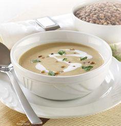Lencsekrémleves Cheeseburger Chowder, Ethnic Recipes, Soups, Gluten, Vegan, Healthy, Food, Diets, Hungarian Recipes