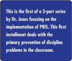 Education World: Tools for Teaching Implements PBIS Level 1
