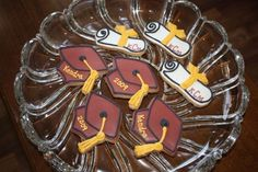 Graduation Cap and Diploma Cookies by dayltfades, via Flickr
