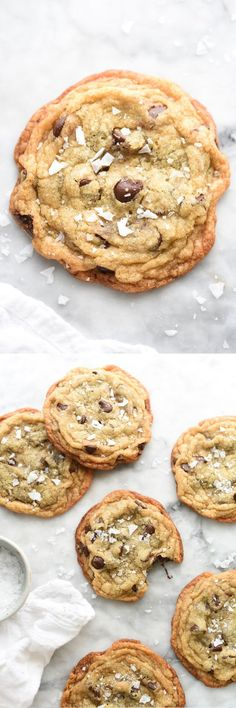 These cookies from the famed Momofuku Milk Bar take only 10 minutes to prep and deliver a soft and chewy cookie with a crispy edge. My favorite kind.