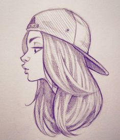 Cool drawings that are easy drawings easy easy drawings easy drawing ideas for girls at free . cool drawings that are easy Cool Easy Drawings, Girl Drawing Easy, Girl Drawing Sketches, Girl Sketch, Pencil Art Drawings, Sketch Art, Drawing Ideas, Drawing Drawing, Cool Girl Drawings