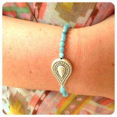 Paisley Balancing Intention Bracelet