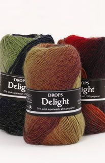 Delight colour chart ~ DROPS Design web page