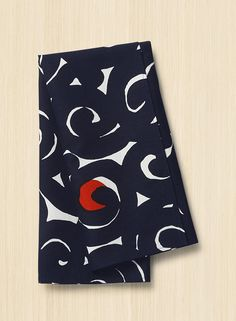 sonata -astiapyyhe Scandinavia Design, Kitchen Linens, Marimekko, Tea Towels, Cotton Linen, Drink Sleeves, Screen Printing, Kids Rugs, Navy