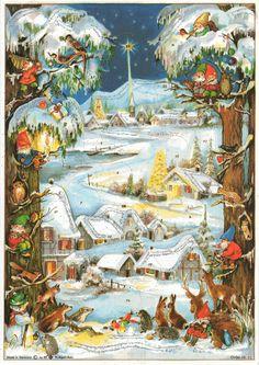 Richard Sellmer Advent Calendar, Order-Nr. 66, Illustrated by Anita Rahlwes
