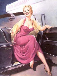 Gil Elvgren - Vintage Pinup Girl