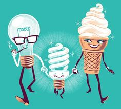 origin of light bulbs