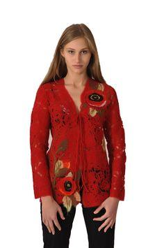 Yaga red jacket