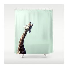 Giraffes Shower Curtain. por VQSTUDIO en Etsy, $90.00