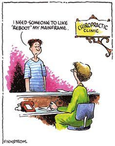 Tech meets chiropractic