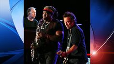 Big man Clarence Clemmons, saxophone player with Bruce Springsteen died after a stroke