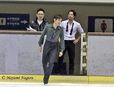 With Kenji Miyamoto(choreographer) and Nobunari Oda(JAPAN)
