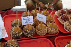 Candy Apples – looks delish!